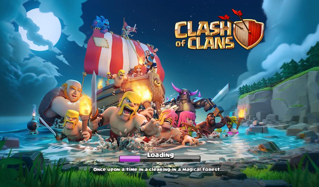 Clash of clans in amazon app store